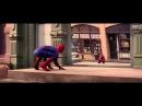 Прикольная реклама воды Evian Человек паук Spider-Man