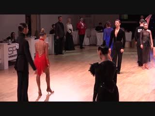 Nikita Pavinskii - Polina Korotkova   R1 Rumba   North Star 2018