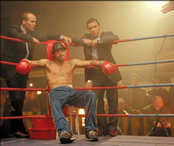 Фотографии со съёмок и интересные факты к фильмуБольшой куш 2000 год