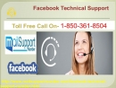How To Fix Common Error Through Facebook Technical Support Team1-850-361-8504