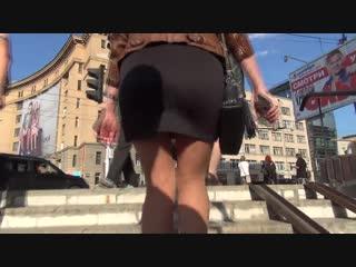 SEXy Girl in Mini Skirt