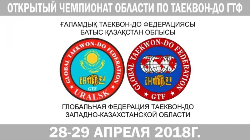 Открытый чемпионат Области по Таеквон-до ГТФ