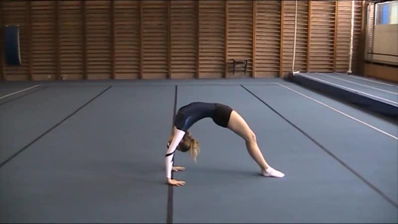 Физкультура. Акробатическое упражнение. Девочки. 7- 8 классы - МЭ ВсОШ 2018-2019