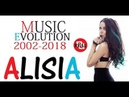 🇧🇬 ALISIA Music Evolution 2002 2018 Алисия Муизикална Еволюция