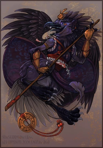 ЗЛОЙ ТЭНГУ В японскую мифологию тэнгу пришёл из Китая (как и многие другие мифологические существа). У японцев тэнгу считается могущественным горным духом, владыкой и хранителем лесов. Если