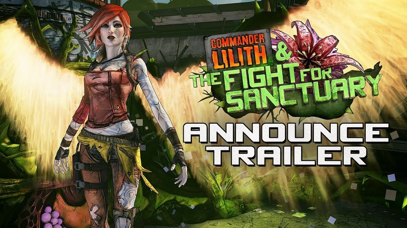 Borderlands 2: Commander Lilith the Fight for Sanctuary Official Trailer