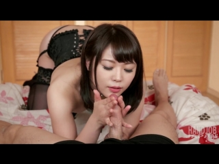 UNCENS. Yui Kawagoe, handjob instruction. Инструкция по дрочилову от японочки Yui Kawagoe