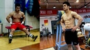 Chinese weightlifters look like bodybuilders