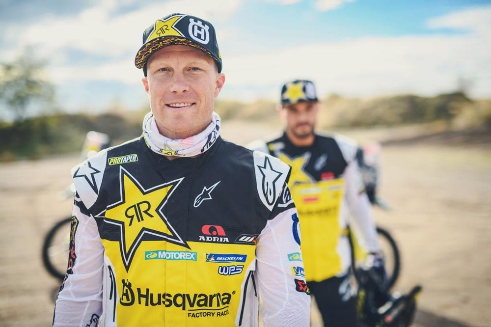 Дакар 2019: команда Rockstar Energy Husqvarna Factory Racing (видео)
