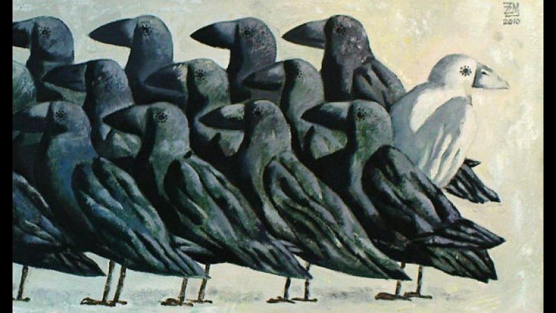 Белая ворона - Диана Смирнова читает стихи Юлии Вихаревой