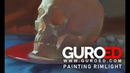 Roman Guro Digital Painting Rimlight. GUROED