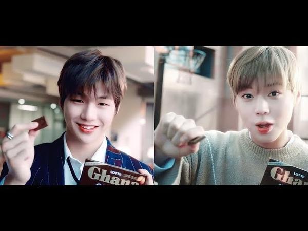 [강다니엘 박지훈워너원] 가나 CF 모음 (DanielJihoon)