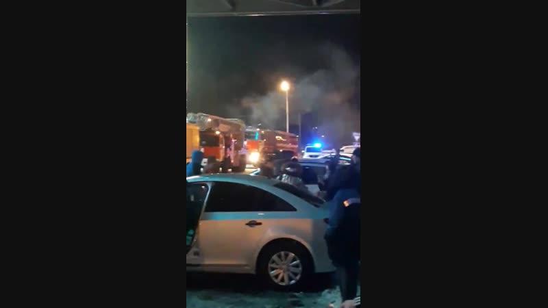 Пожар в Гринн Бире 19.01.19