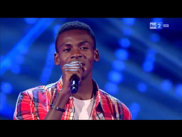 Charles Kablan - Hello   The Voice of Italy 2016 - Blind Audition