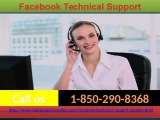 Prevent Yourself From Hackers Via Facebook Technical Support 1-850-290-8368