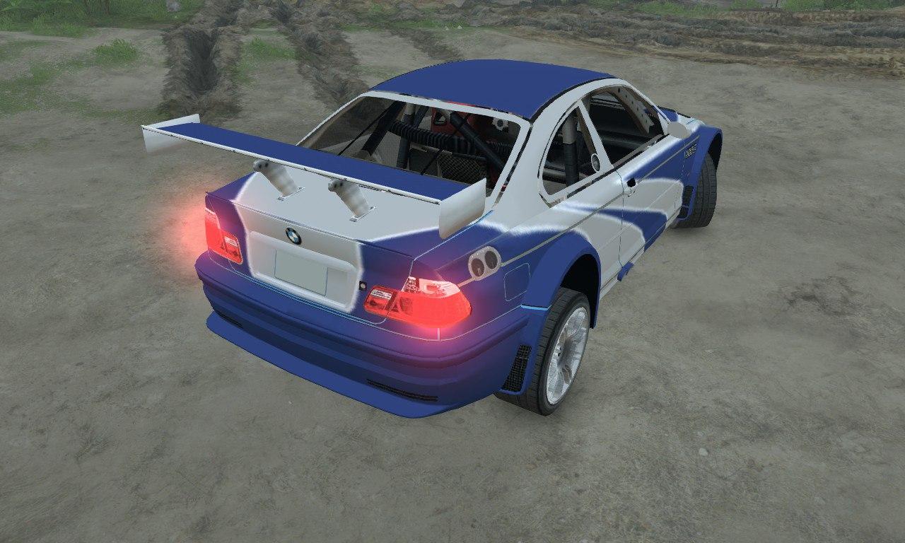 BMW M3 GTR для 03.03.16 для Spintires - Скриншот 2