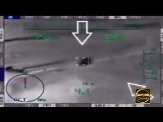 Сирия ВКС РФ Боевой вертолет Ка-52 «Аллигатор» уничтожает боевиков ИГИЛ