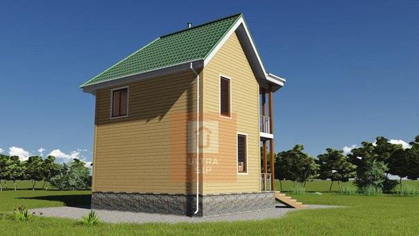Взяли в работу небольшой симпатичный дом в Марьино, что под Павловском 👍👍👍 #ультрасип_марьино