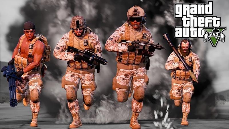 [GTA 5 RP] Обычный день армейца