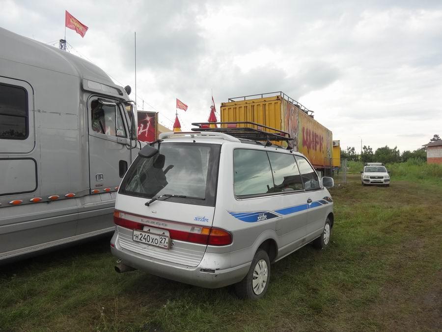 Транспорт Приморья - Август 2018 уаз