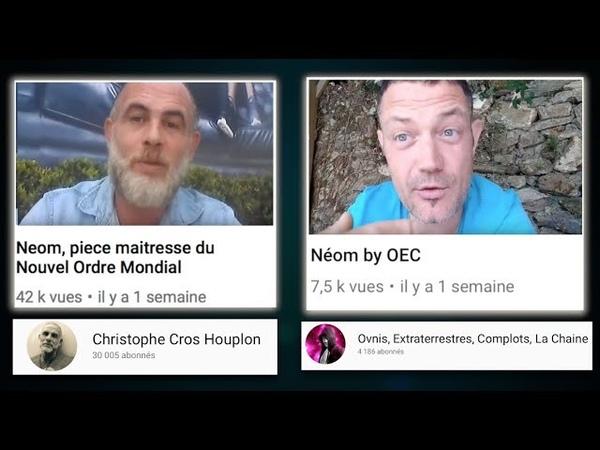 Yahia Gouasmi : à Christophe et Fabrice . ( Projet Neom )schiappa et la promode la pédophilie
