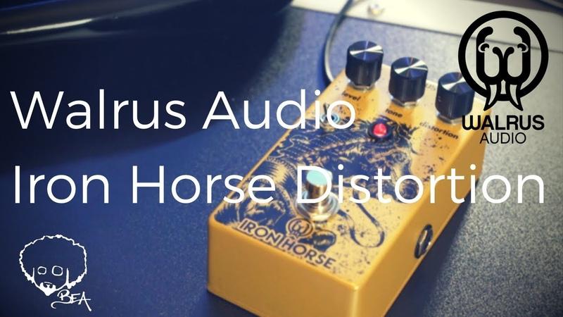 Walrus Audio Iron Horse V2 Shootout Against V1