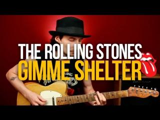 Как играть Gimme Shelter The Rolling Stones