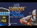 Игры SEGA на PS2 через PicoDrive Shinobi Return of the Ninja Master