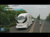 Роскошный дом на колесах представили в Китае!
