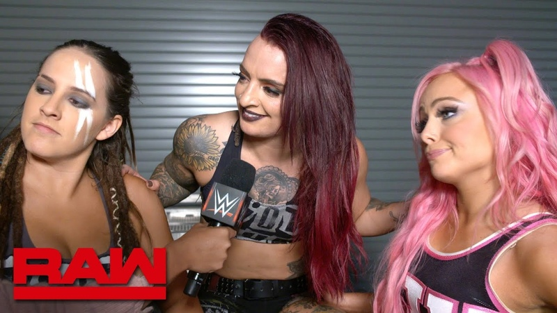 WWE Evolution will be all about The Riott Squad Raw Exclusive Oct 22 2018