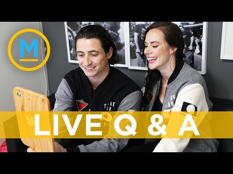 Tessa Virtue and Scott Moir answer fan's twitter questions about skating, Drake and more!