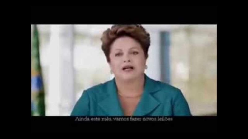 É um crime - Dilma e as privatizações - Discurso ANTES e DEPOIS das eleições... canalhice!