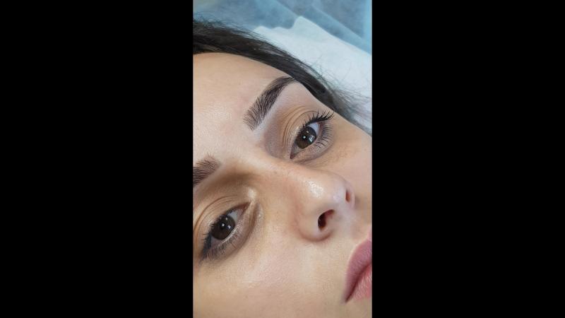 Пудровые брови/ Перманентный макияж бровей
