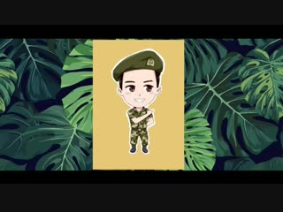 181023 JungYongHwa - BC Card Unionpay Credit Card (cartoon ver)