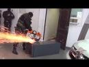 Работает СОБР задержание автомошенников оперативная съёмка