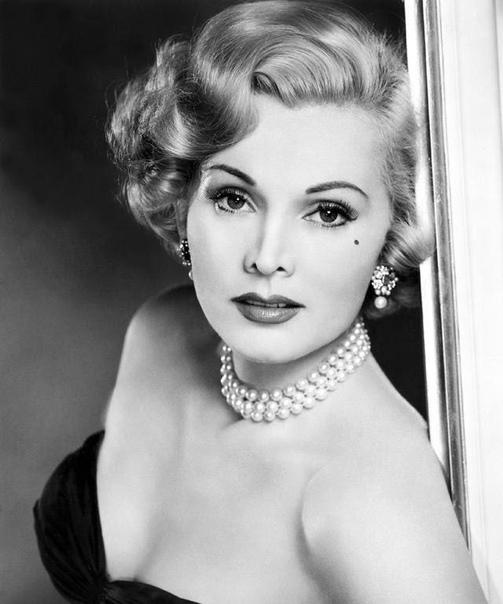1952 г. Прекрасная Жа Жа Габор.