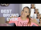 БРОВИ по типу лица - BEST BROWS EVER - change your entire face!