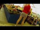 секси девушка без трусиков / super girl in mini to the skirt, mega-series!!!!!!!)))))))