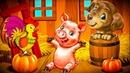 Развивающий мультфильм про животных 2 серии. Учим Животных . Мультик Названия и голоса животных.