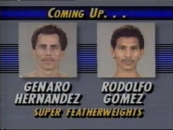 Genaro Hernandez vs Rodolfo Gomez 06-12-1990