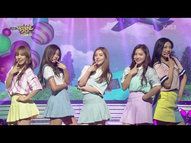 Red Velvet 레드벨벳 The First Half Year Special 'Ice Cream Cake' KBS MUSIC BANK 2015.06.26