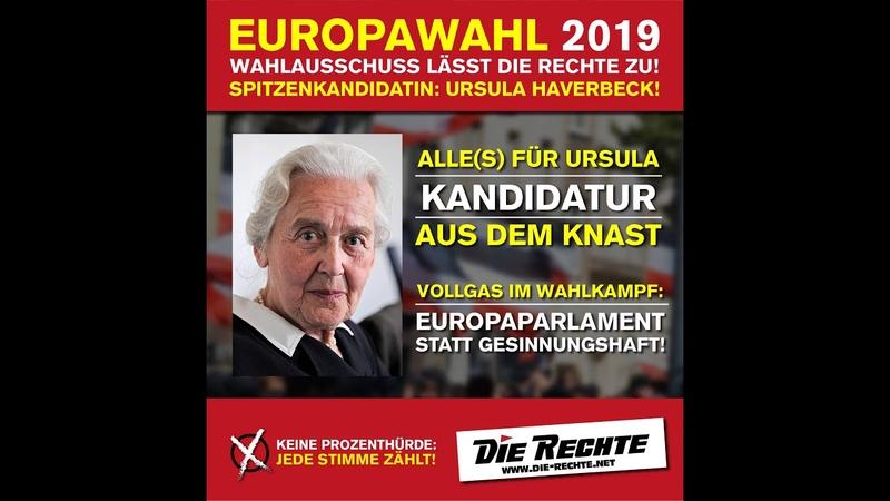 DIE RECHTE fordert im Bundestag Freiheit für Haverbeck - Es kommt zum Eklat!