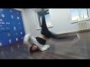 B-Boy training .Chita