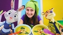 Çocuk videoları Sevcan Zootropolis oyuncaklarına çorba yapıyor