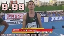 FILIPPO TORTU RUNS IN 9.99 IN FINAL AT MADRID MEETING AND HE DOES ITALIAN NATIONAL RECORD!