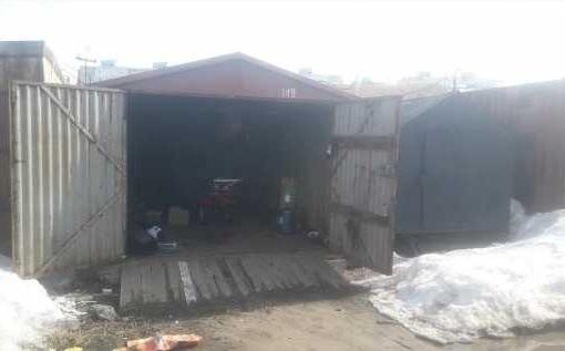 гараж металлический Овощная