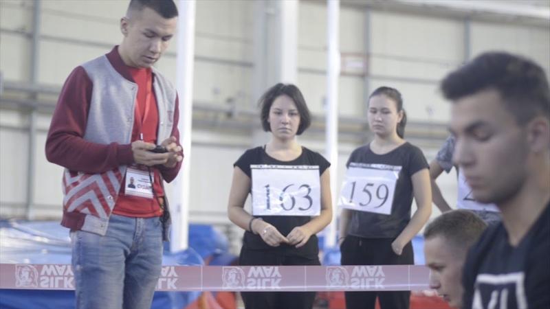Мәктәп укучылары ГТО нормаларын тапшыра 14 11 2019 Казан