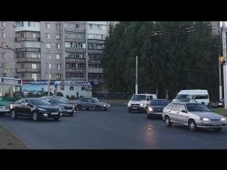 20180913_174446. В ЧЕБОКСАРАХ ПРОБКА НА КОЛЬЦЕ ШУПАШКАР.