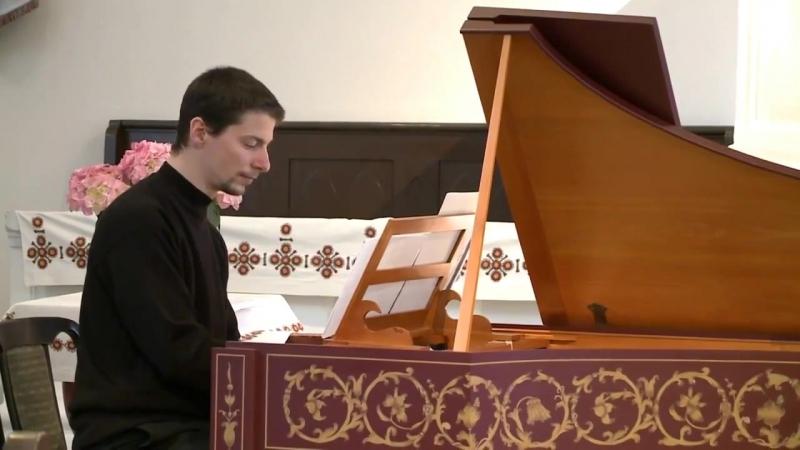 Johann Pachelbel - Hexachordum Apollinis [6 Arias and Variations], harpsichord