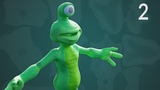 CGC Classic: Alien Texturing (Blender 2.4) - Modeling and Animating an Alien Character Pt. 2
